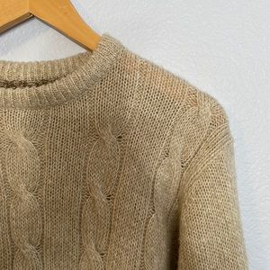 Vintage David Taylor cream colored sweater